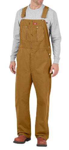 Salopette beige tan Dickies vetement travail Securite58