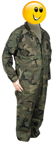 BigAl 1447-Couvre-tout camouflage pour chasseur
